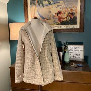Cream Diamond LL Bean jacket